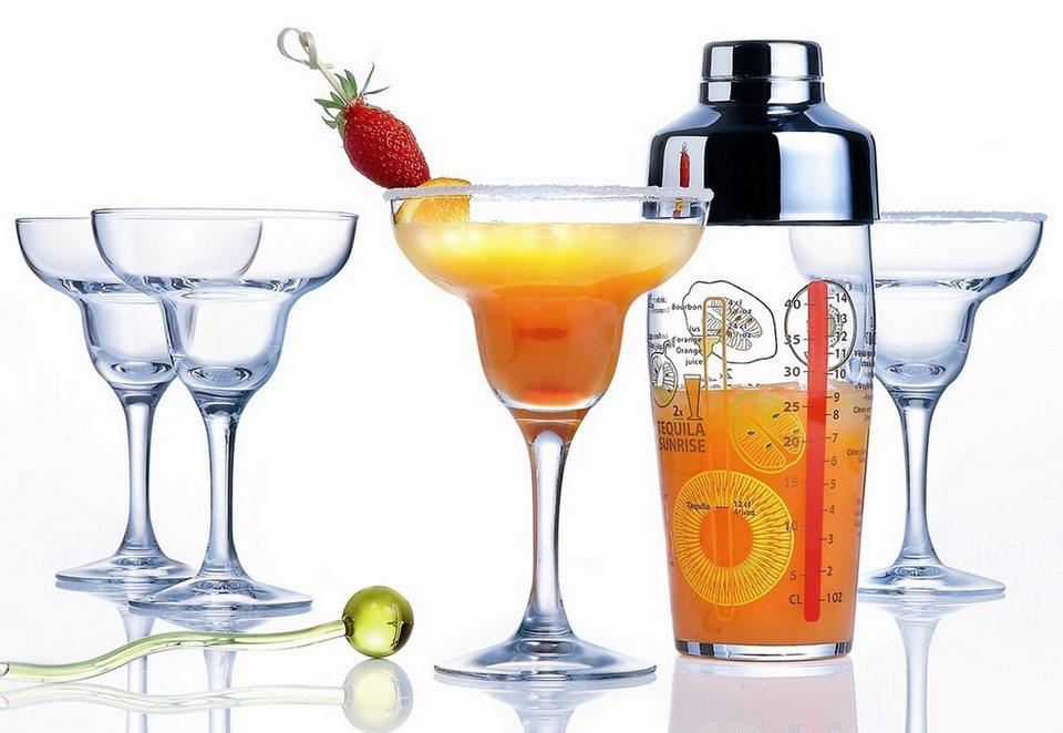 Luminarc Cocktail-Set, »MARGARITA« (5tlg.) in transparent