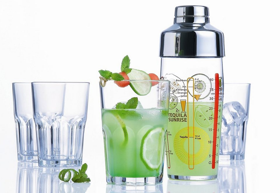 Luminarc Cocktail-Set, »Samba« (5tlg.) in transparent