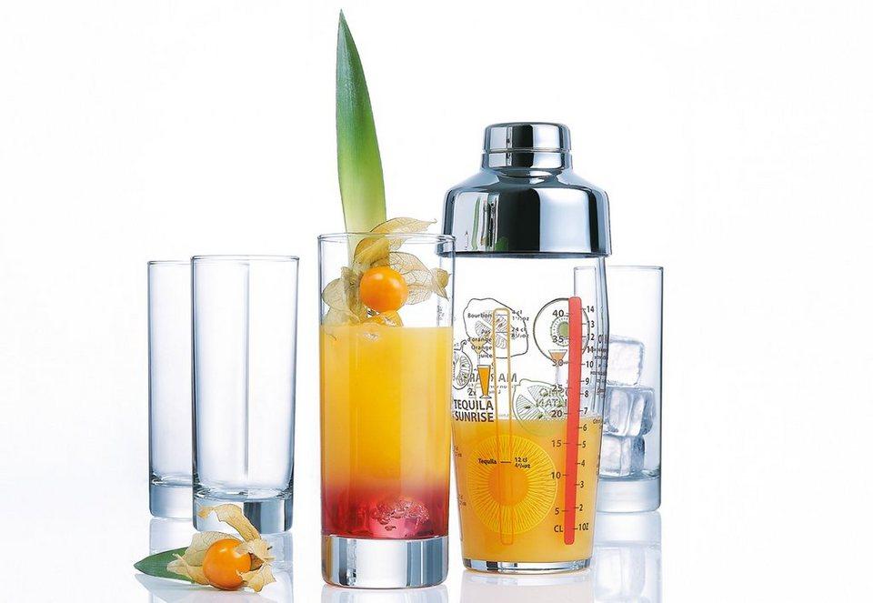 Luminarc Long Drink-Set (5tlg.) in transparent