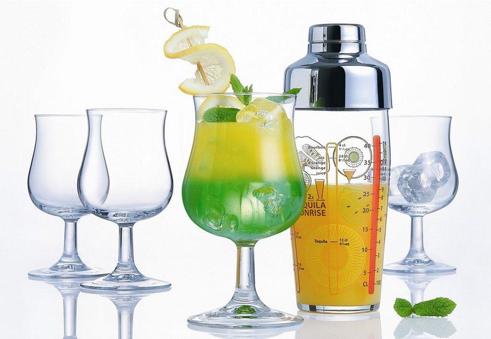 Luminarc Cocktail-Set, »Bacchus« (5tlg.) in transparent