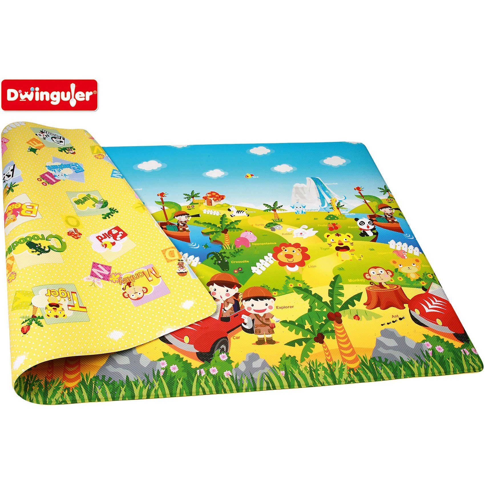 Dwinguler Spielmatte Safari, 140 x 230 cm