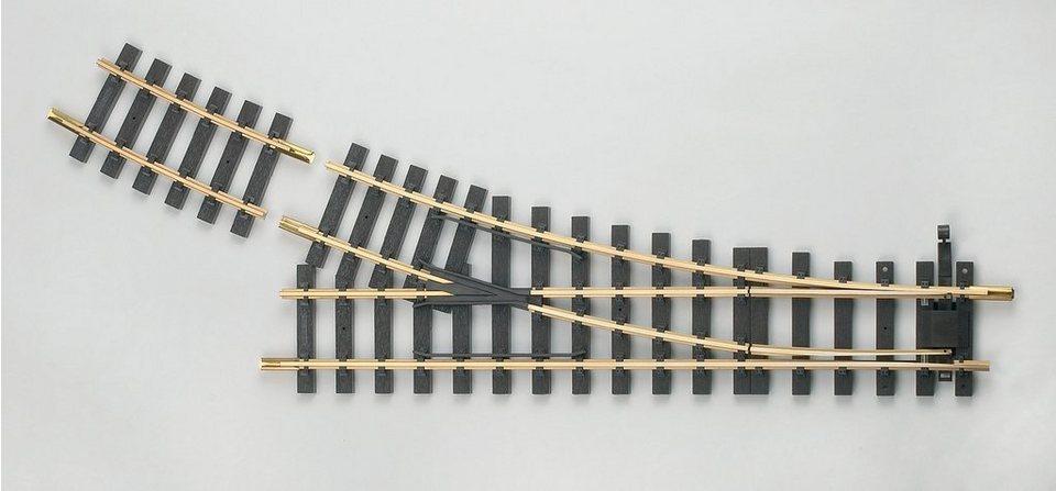 PIKO Weiche »G-Weiche rechts R5, 22,5-Grad«, Spur G