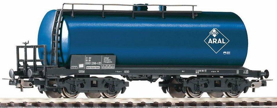 PIKO Güterwagen, Spur H0, »Kesselwagen Aral BV, DB - Gleichstrom« in blau
