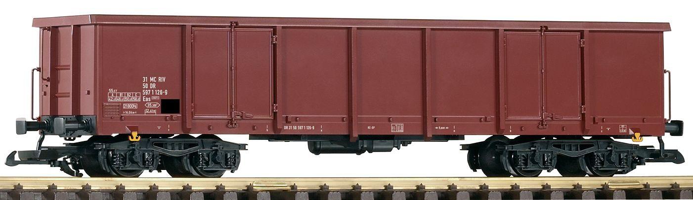 PIKO Güterwagen, Spur G, »Offener Drehgestellwagen Eas5971, DR - Gleichstrom«