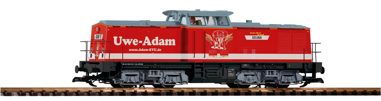 PIKO Diesellokomotive, Spur G, »Diesellok BR 204 Uwe Adam - Gleichstrom«