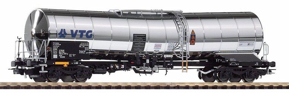 PIKO Güterwagen, Spur H0, »Chemiekesselwagen VTG, DB AG - Gleichstrom« in silberfarben