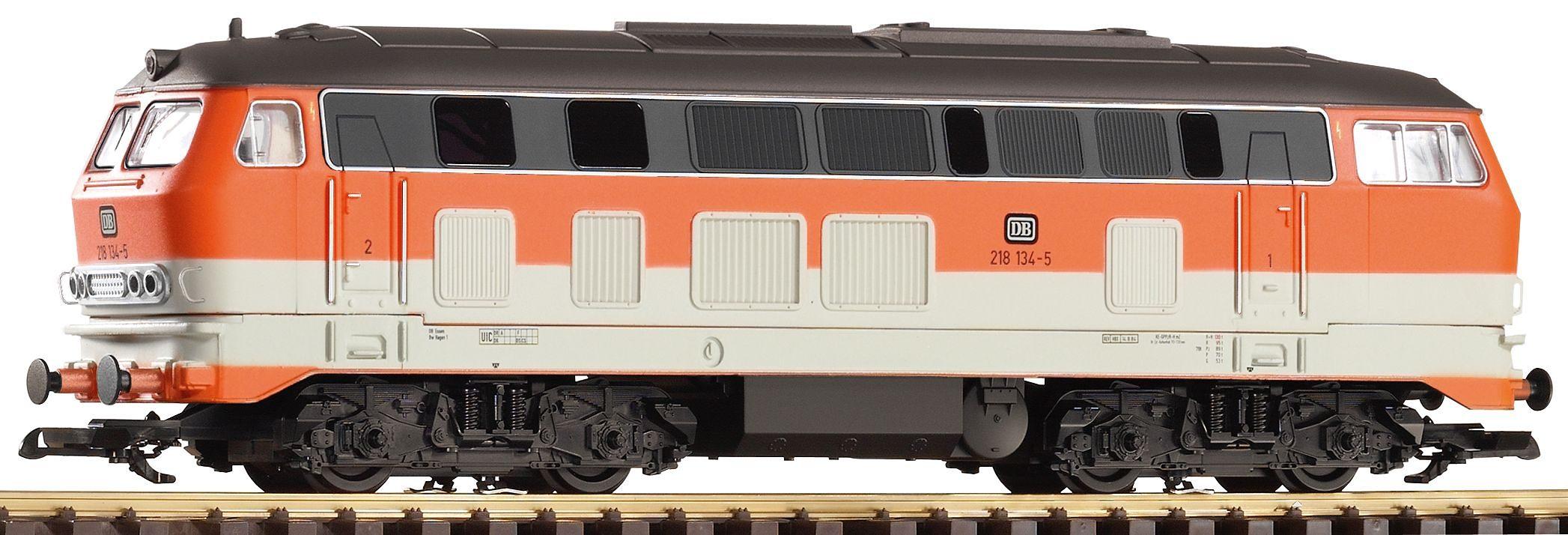 PIKO Diesellokomotive, »Diesellok BR 218 City Bahn, DB - Gleichstrom«, Spur G