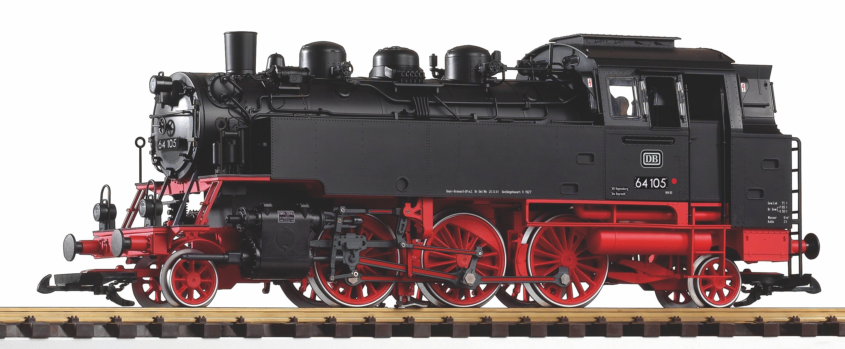 PIKO Dampflokomotive mit Dampf, Spur G, »Dampfl...