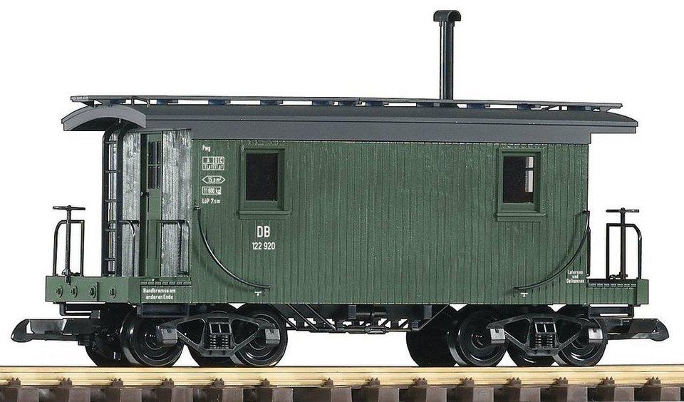 PIKO Personenwagen, Spur G, »Packwagen, DB - Gleichstrom« in grün
