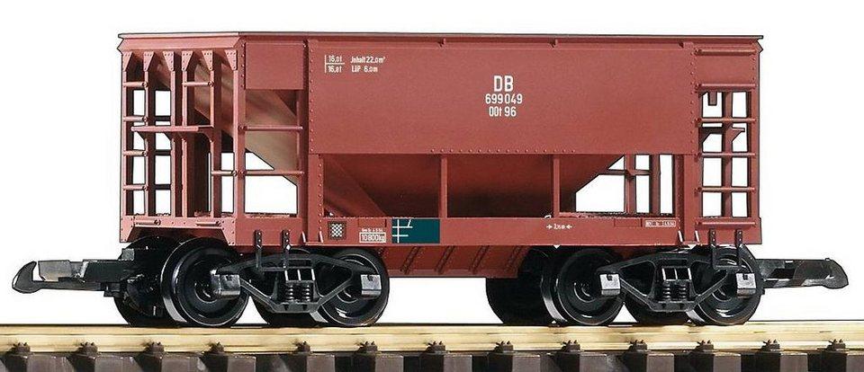 PIKO Güterwagen, »Schüttwagen, DB - Gleichstrom«, Spur G in braun