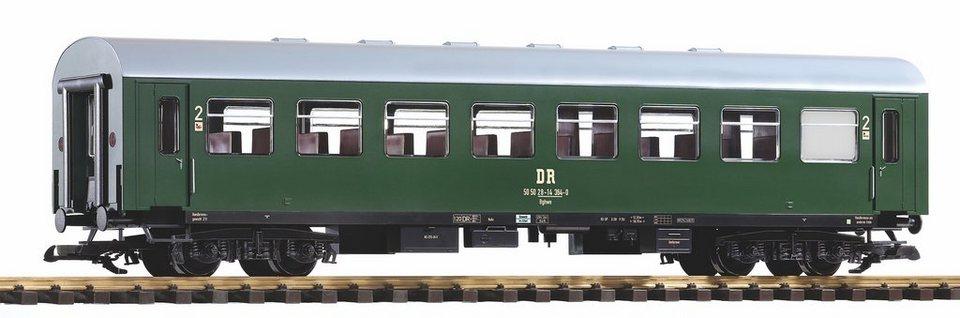 PIKO Personenwagen, Spur G, »Reko-Wagen, 2.Klasse, DR, 50 50 28-14 - Gleichstrom« in grün