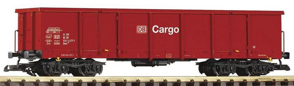 PIKO Güterwagen, Spur G, »Offener Drehgestellwagen Eaos 106 DB Cargo - Gleichstrom« in rot