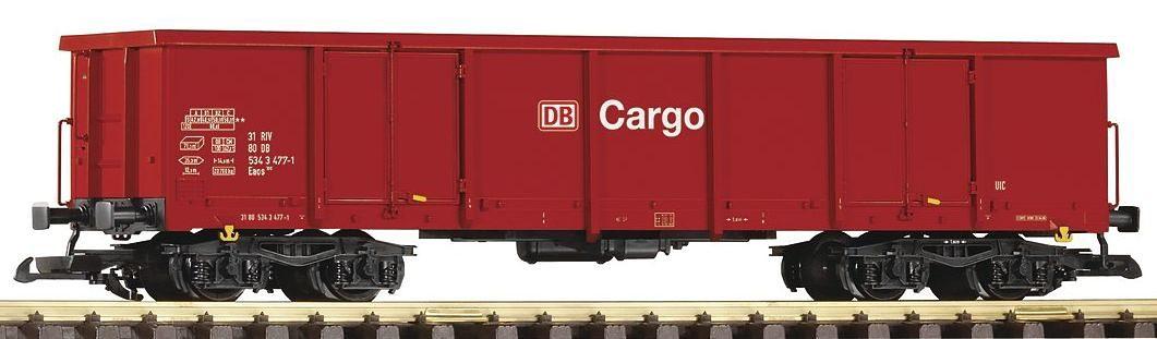 PIKO Güterwagen, Spur G, »Offener Drehgestellwagen Eaos 106 DB Cargo - Gleichstrom«