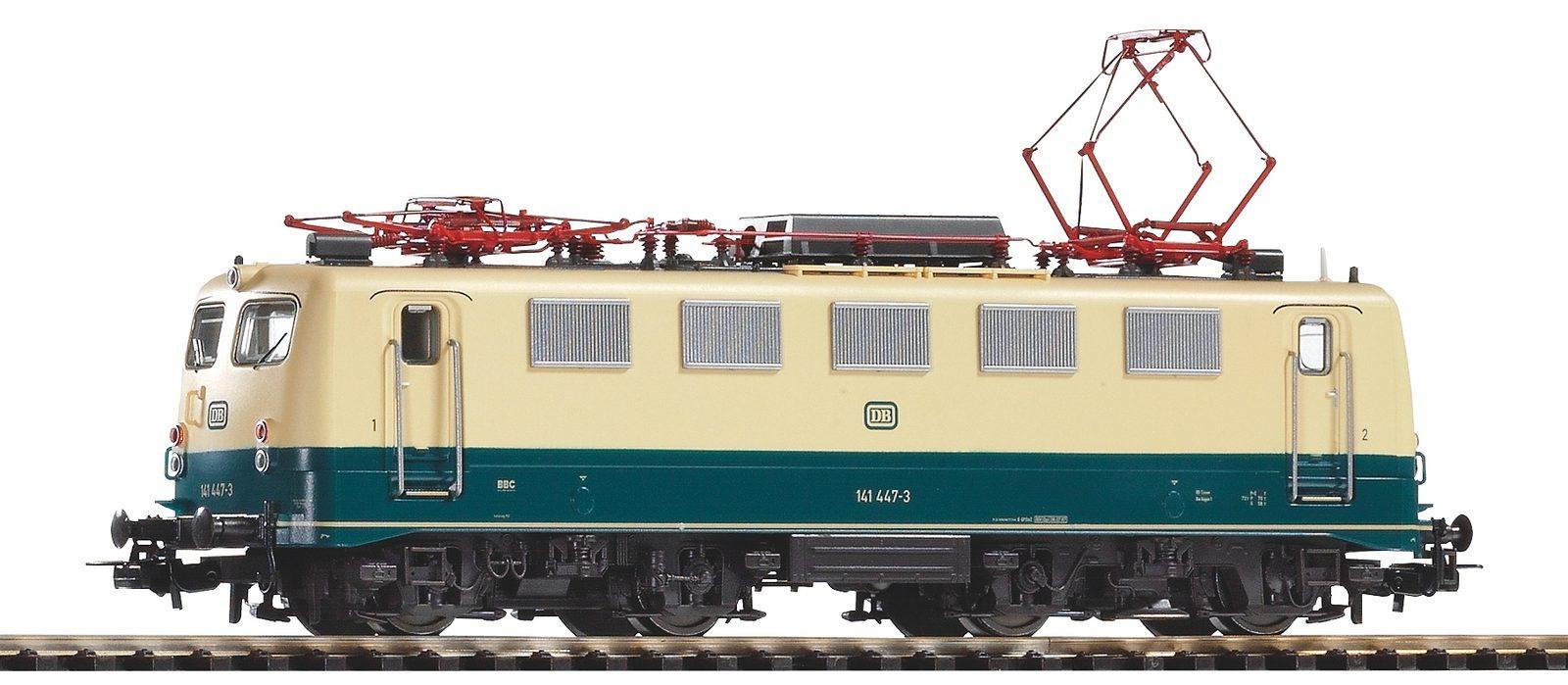 PIKO Elektrolokomotive, Spur H0, »E-Lok BR 141 447-3, DB - Gleichstrom« - broschei