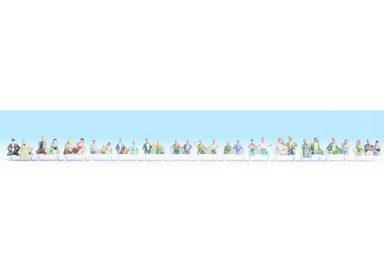 NOCH Spielfigur »Modelleisenbahn - Reisende ohne Beine«