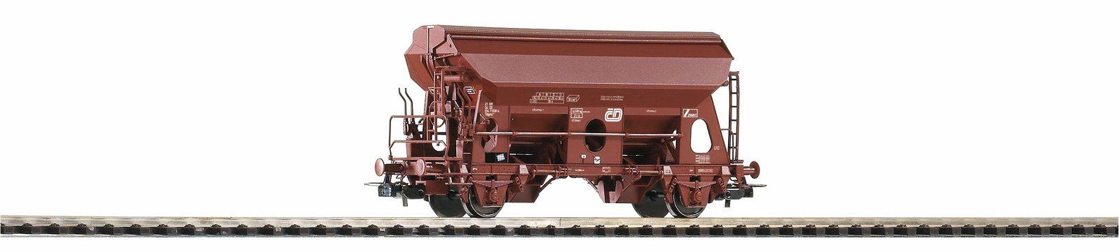 PIKO Güterwagen, Spur H0, »Selbstentladewagen Tdgns4211, CD - Gleichstrom« - broschei