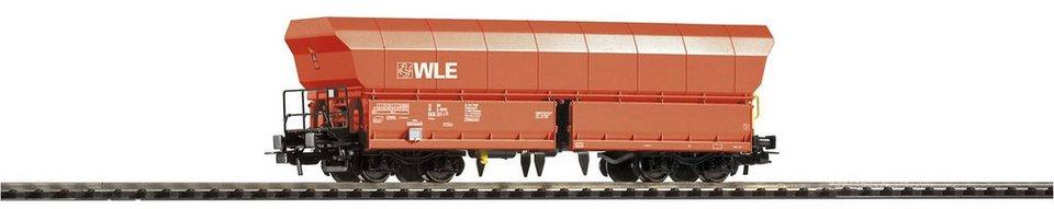 PIKO Güterwagen, Spur H0, »Schüttgutwagen Falns 176 WLE - Gleichstrom« in rot