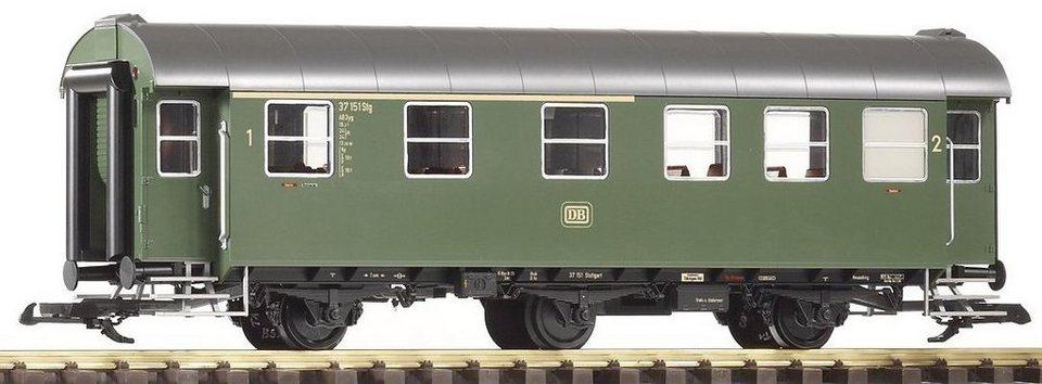 PIKO Personenwagen, Spur G, »Umbauwagen AB3yg, 1./2. Klasse, DB - Gleichstrom« in grün