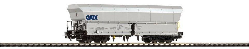 PIKO Güterwagen, Spur H0, »Schüttgutwagen Falns 176 GATX - Gleichstrom« in weiß