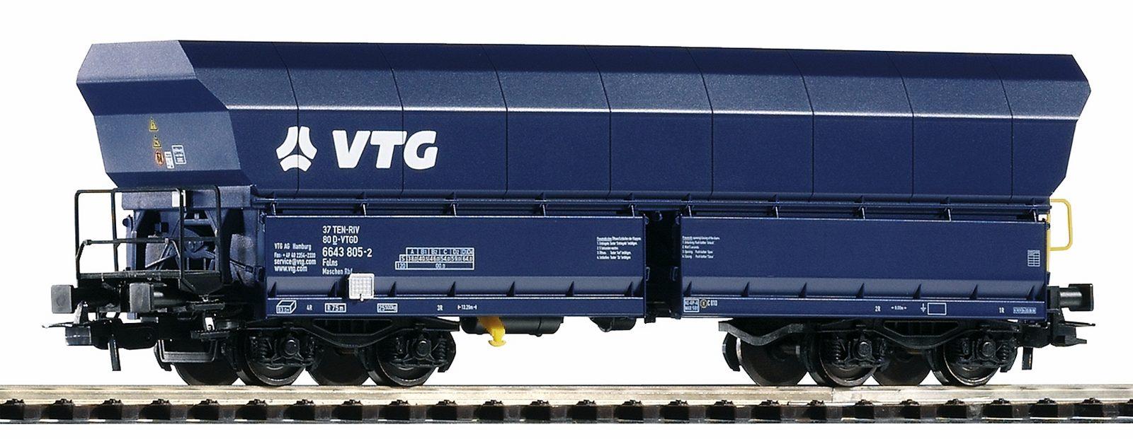 PIKO Güterwagen, Spur H0, »Schüttgutwagen Falns 176VTG - Gleichstrom« - broschei