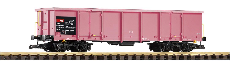 PIKO Güterwagen, Spur G, »Offener Drehgestellwagen Eaos, SBB - Gleichstrom«
