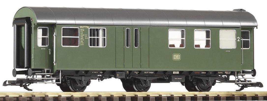 PIKO Personenwagen, Spur G, »Umbauwagen BD3yg, 2.Klasse mit Gepäckabteil, DB - Gleichstrom«
