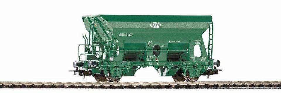 PIKO Güterwagen, Spur H0, »Selbstentladewagen Fcs ITL - Gleichstrom« in grün