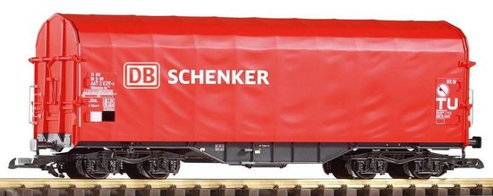 PIKO Güterwagen »Schiebeplanenwagen Shimmns, DB-Schenker«, Spur G