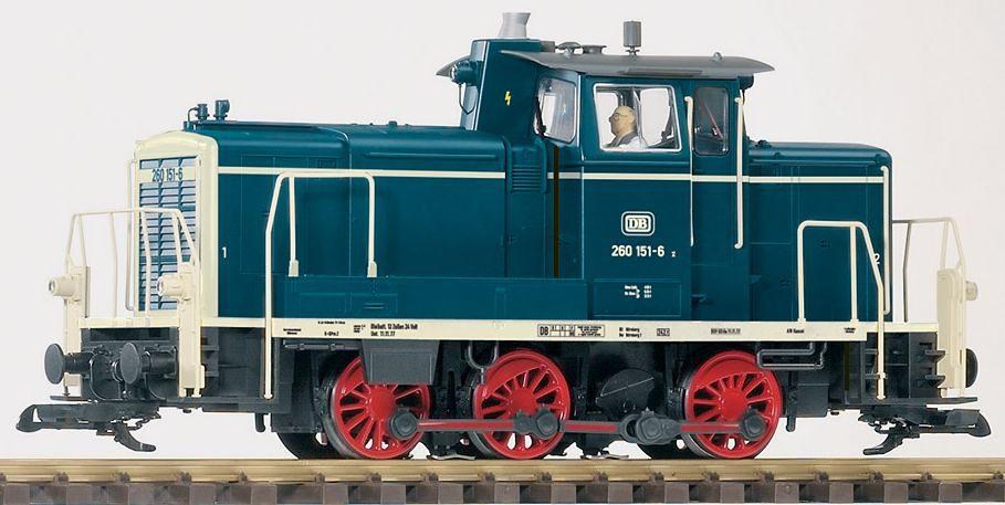PIKO Diesellokomotive, Spur G, »Diesellok, BR 260, DB - Gleichstrom«