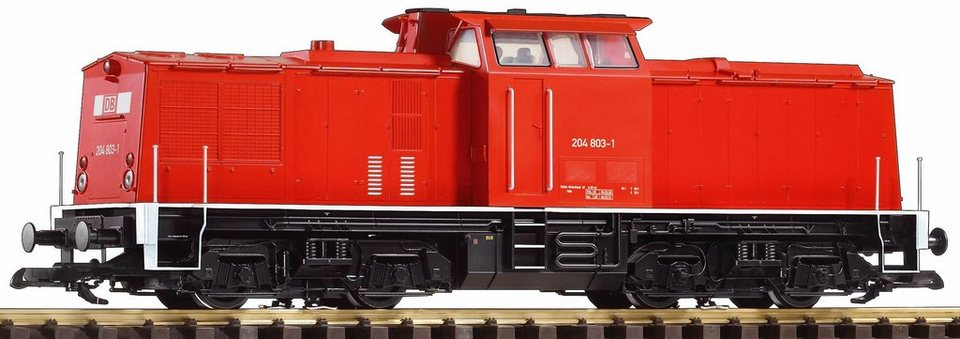 PIKO Diesellokomotive, »Diesellok BR 204, DB AG - Gleichstrom«, Spur G in rot