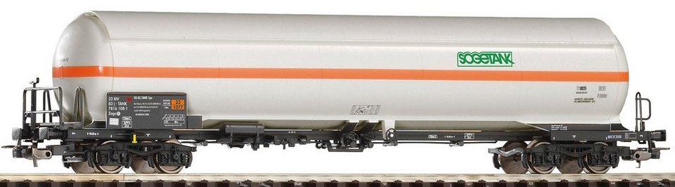 PIKO Güterwagen, Spur H0, »Druckkesselwagen Sogetank, DB AG - Gleichstrom« in weiß