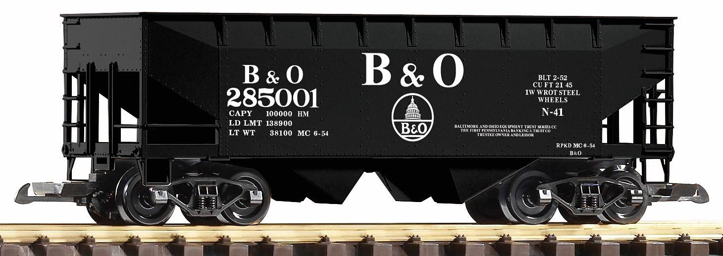 PIKO Güterwagen, Spur G, »Schüttgutwagen, B&O - Gleichstrom«