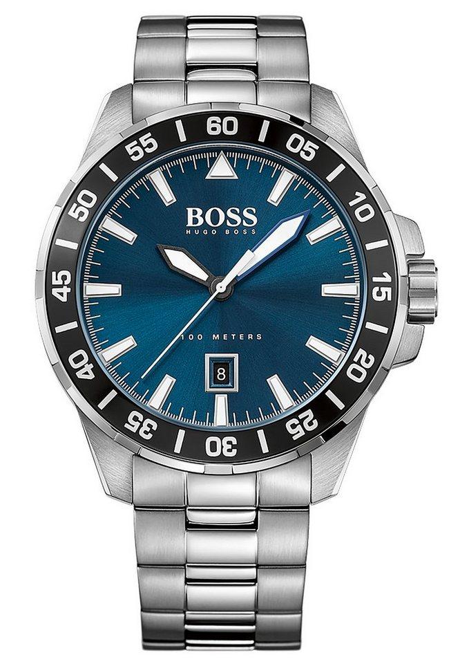 "BOSS, Armbanduhr, ""DEEP OCEAN, 1513230"" in silberfarben"