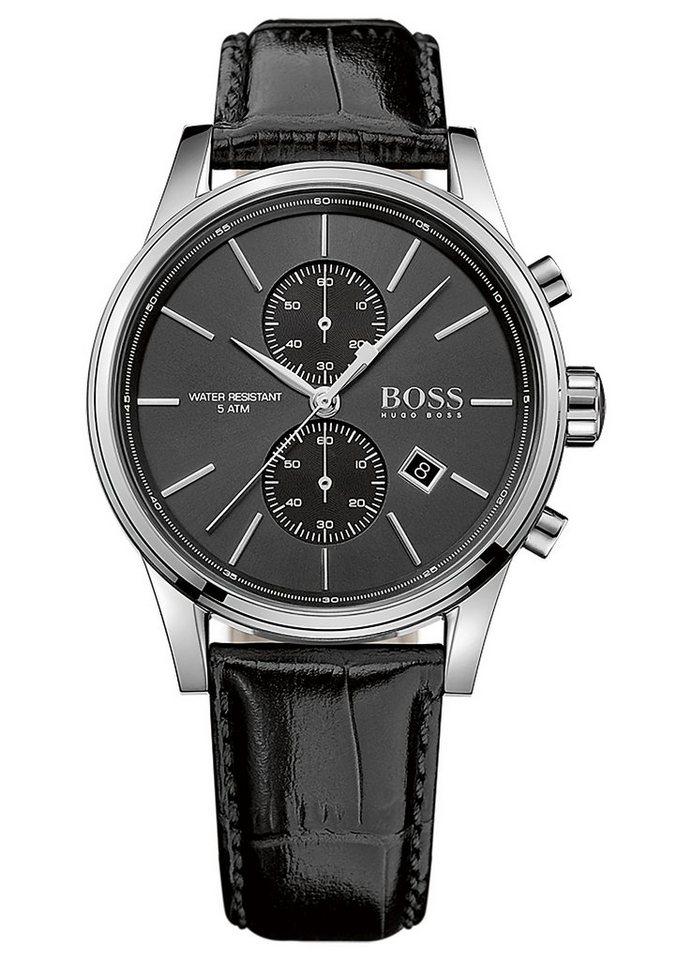 Boss Chronograph »JET, 1513279« in schwarz