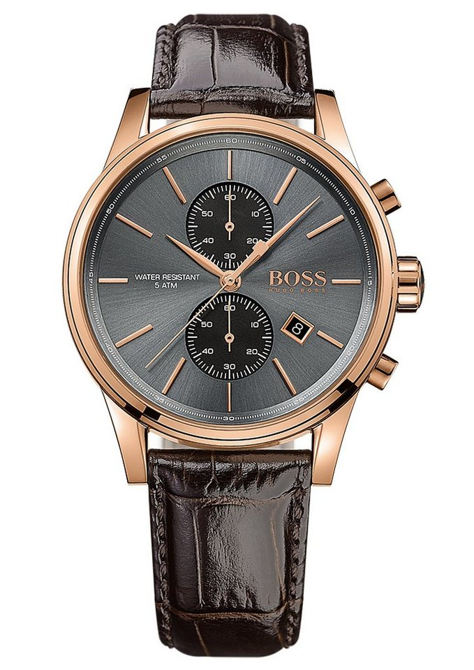 Boss Chronograph »JET, 1513281« in braun