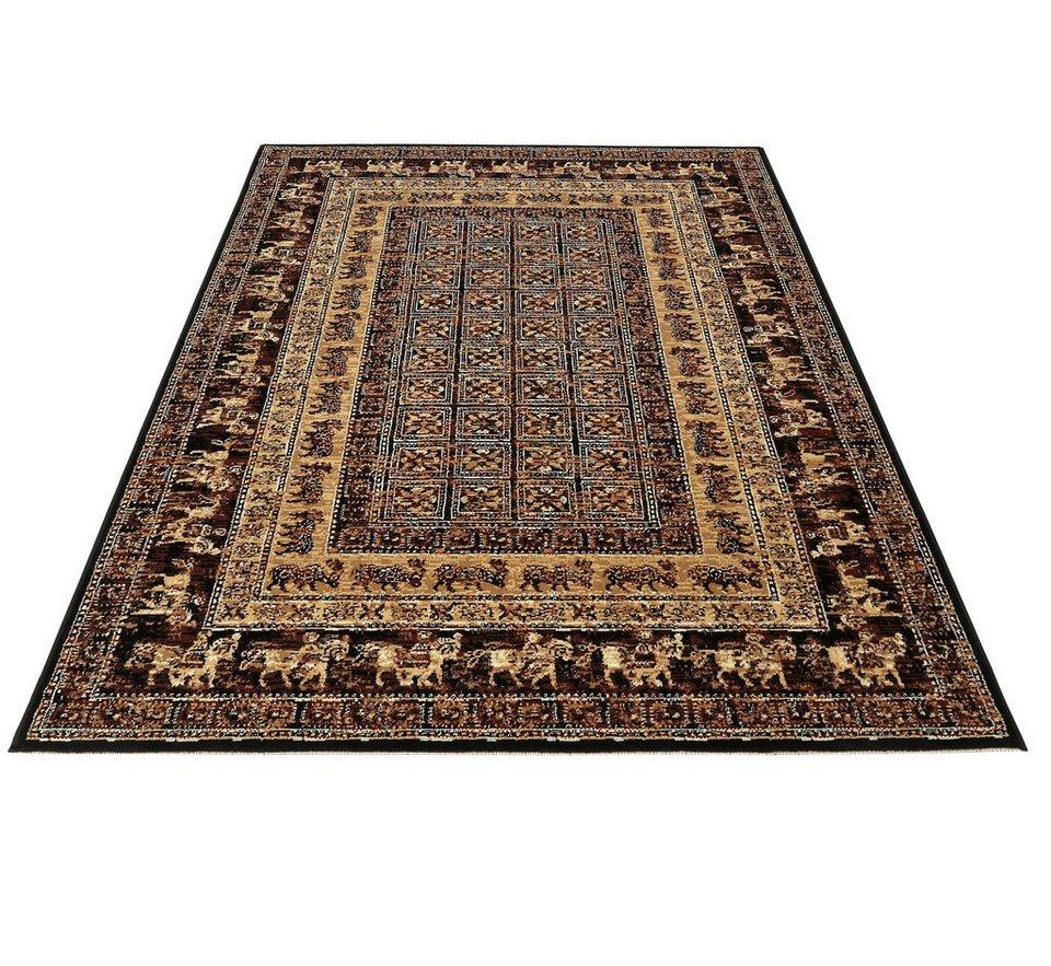 Teppich, my home, »Karavane«, 1,6 kg/m², gewebt in braun