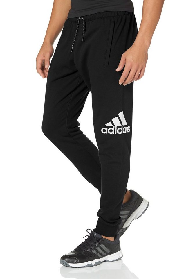 adidas Performance ESSENTIALS LOGO PANT FRENCH TERRY CH Jogginghose in Schwarz