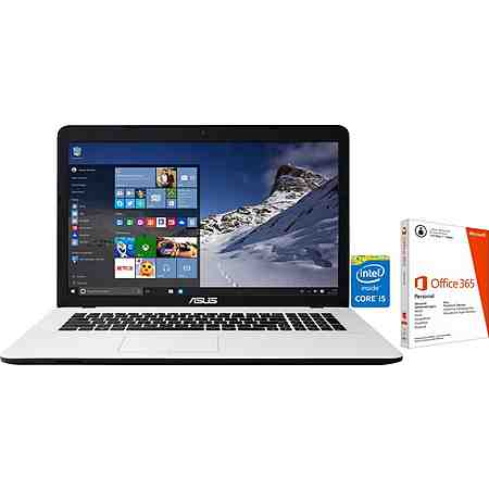 Asus K751LJ-TY31 Notebook, Intel® Core™ i5, 43,9 cm (17,3 Zoll), 1000 GB Speicher, 4096 MB DDR3-RAM