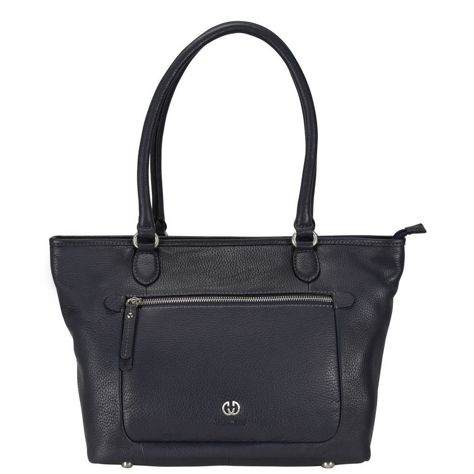 Gerry Weber Napoli II Shopper Leder 30 cm in dark blue