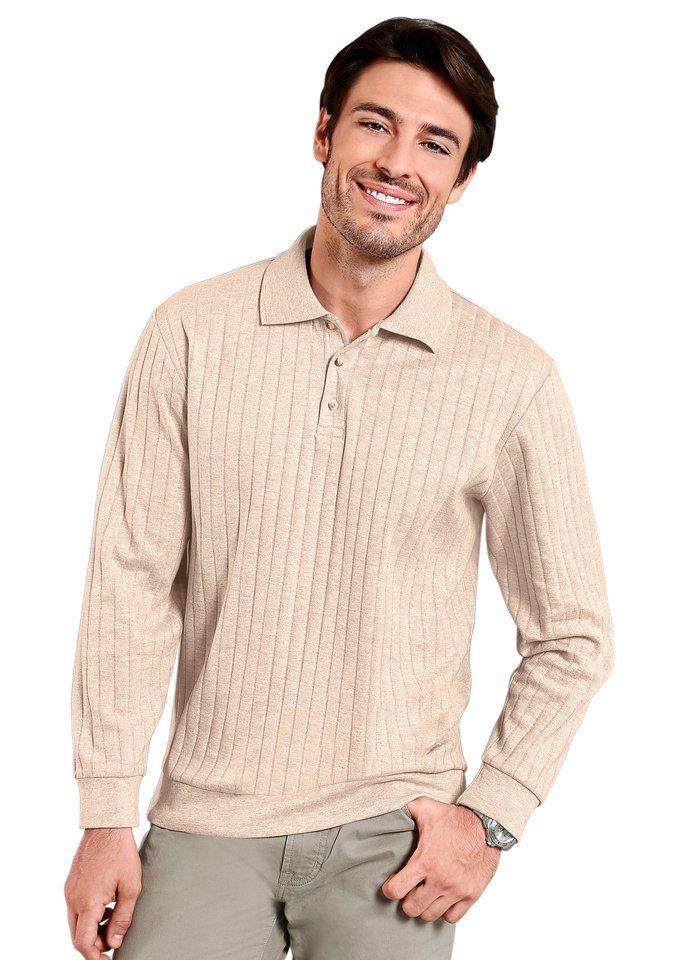 Classic Basics Sweatshirt in angenehmer Qualität in beige