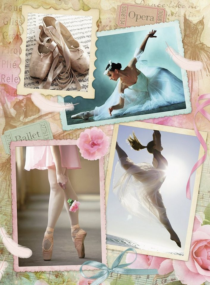 Ravensburger Puzzle, 500 Teile, »Primaballerina«