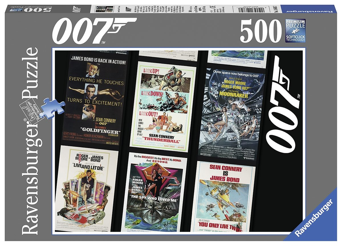 Ravensburger Puzzle, 500 Teile, »James Bond Spectre«