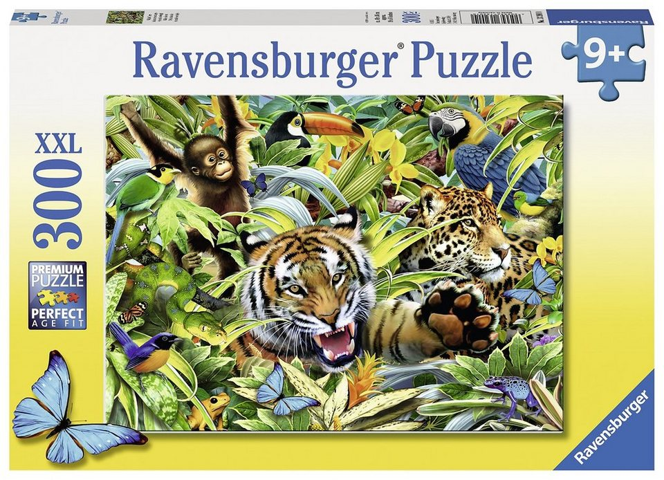 Ravensburger Puzzle, 300 Teile, »Wilde Tiere«