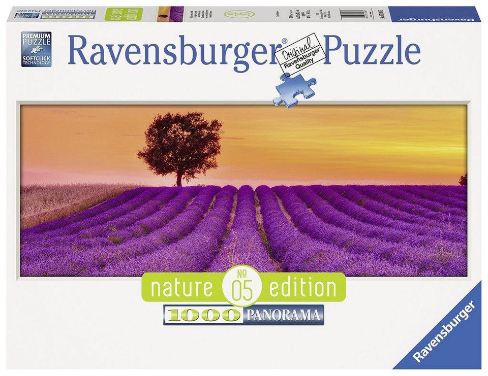 Ravensburger Panoramapuzzle, 1000 Teile, »Duftender Lavendel - Nature Edition«