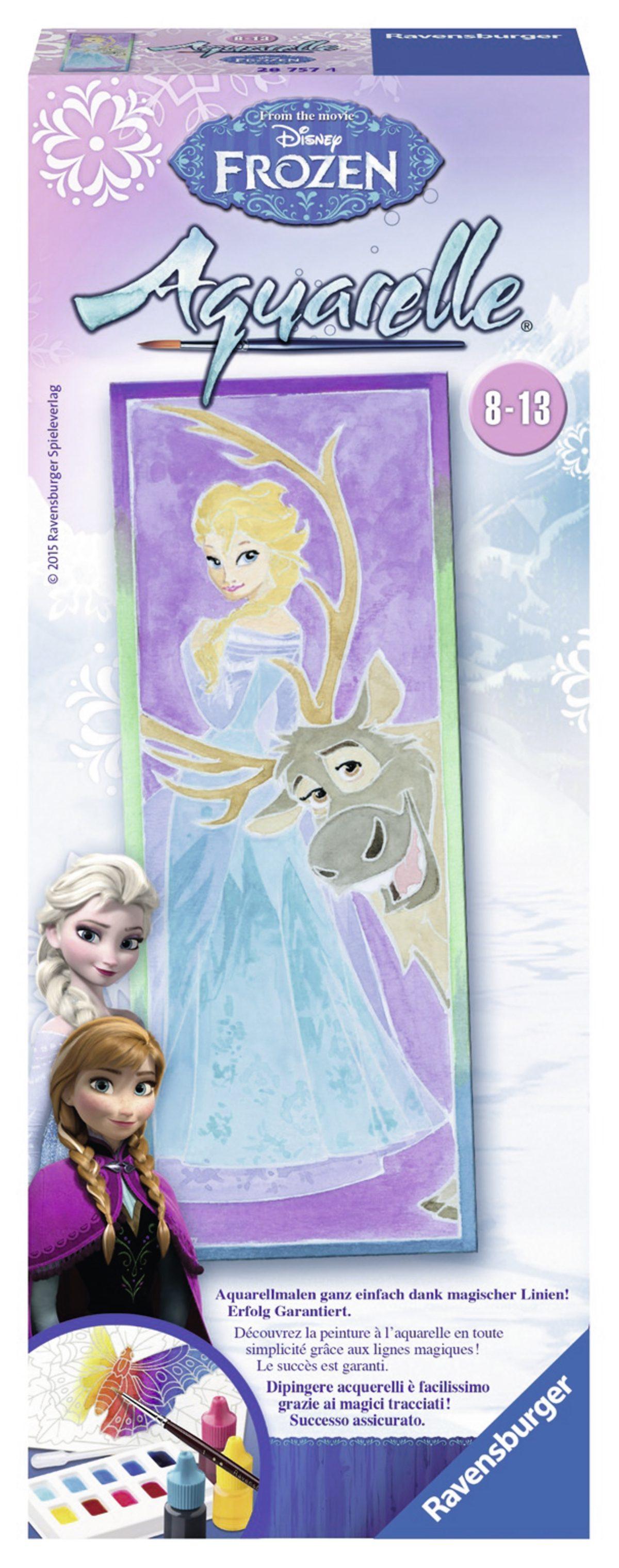 Ravensburger Aquarelle, »Disney Frozen-Elsa&Sven«