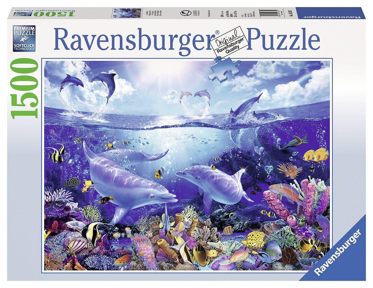 Ravensburger Puzzle, 1500 Teile, »Tag der Delfine«
