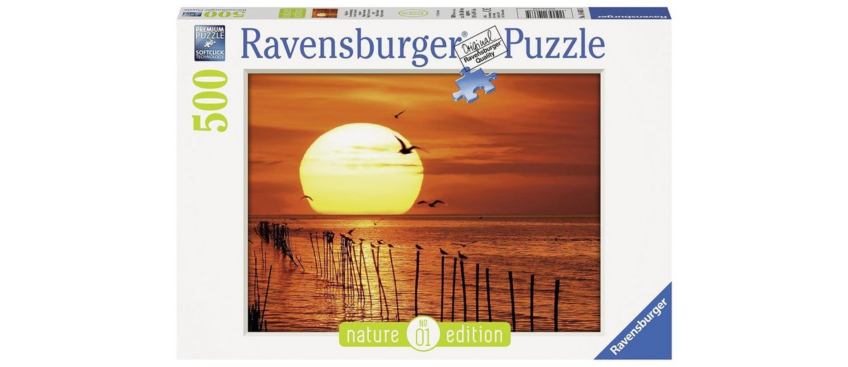 Ravensburger Puzzle, 500 Teile, »Magischer Sonnenuntergang - Nature Edition«