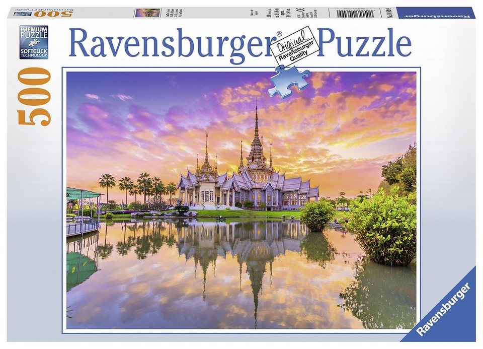 Ravensburger Puzzle, 500 Teile, »Wat Thai«