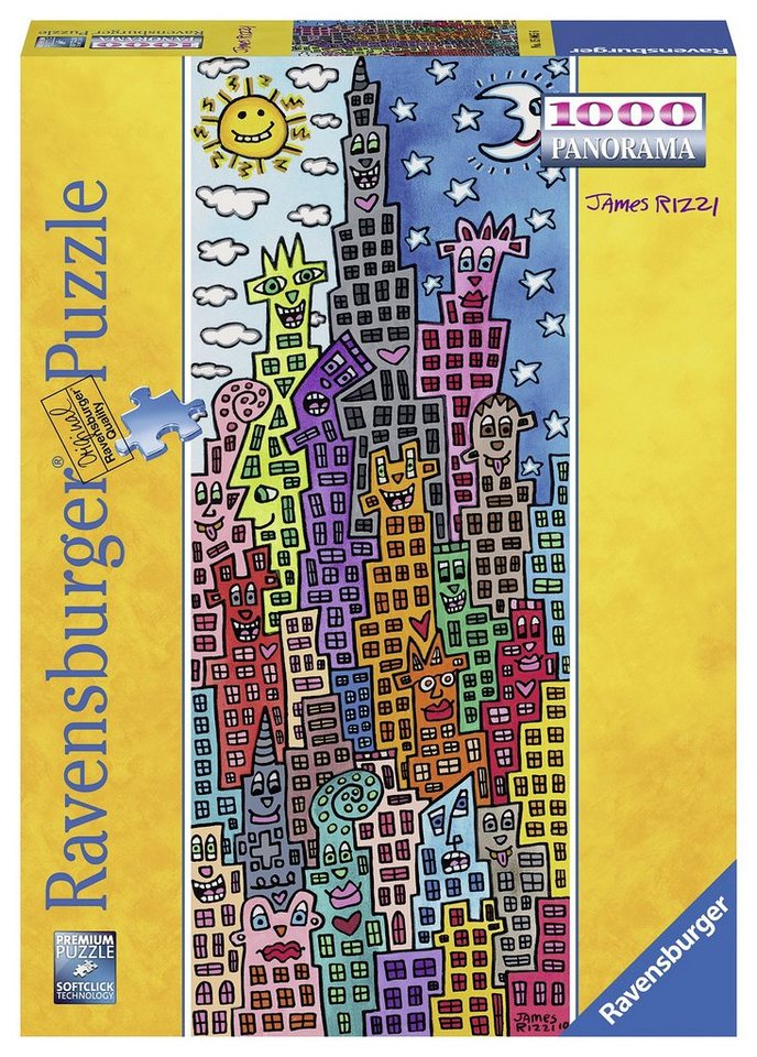 Ravensburger Panoramapuzzle, 1000 Teile, »Rizzi«