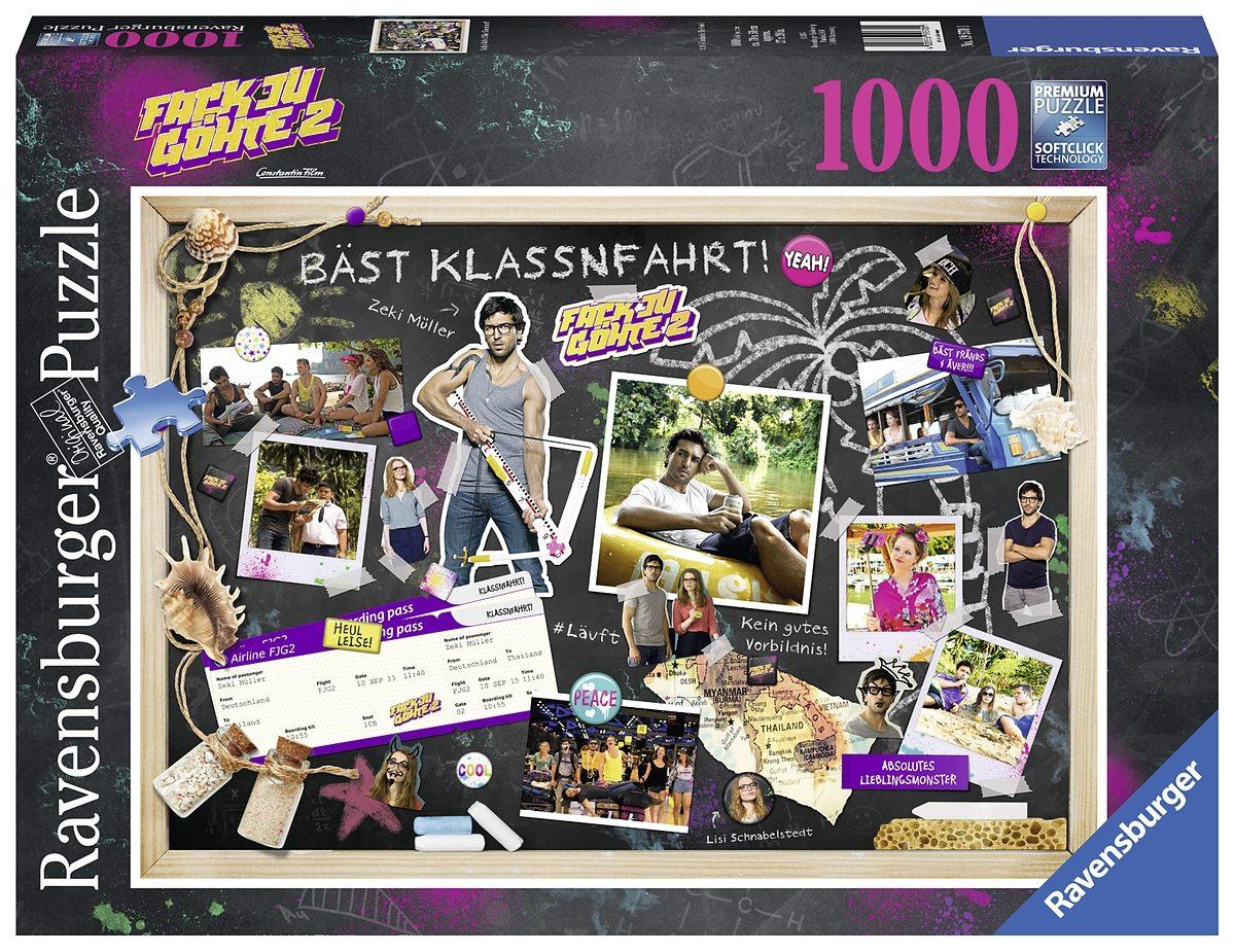 Ravensburger Puzzle, 1000 Teile, »Fack ju Göhte 2 Bäst Klassnfahrt!«